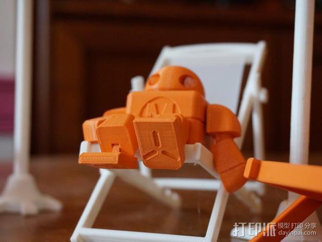 制汇节 机器人 3D模型  图9