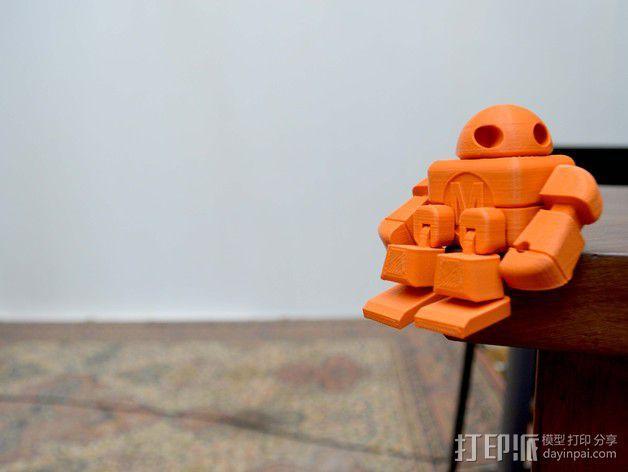 制汇节 机器人 3D模型  图7