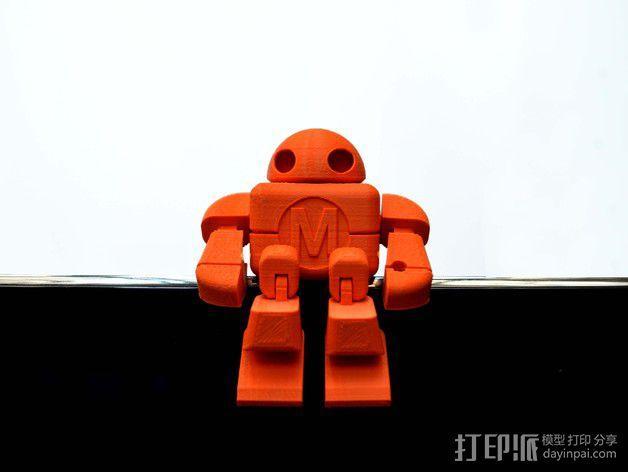 制汇节 机器人 3D模型  图8