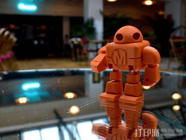 制汇节 机器人 3D模型  图10