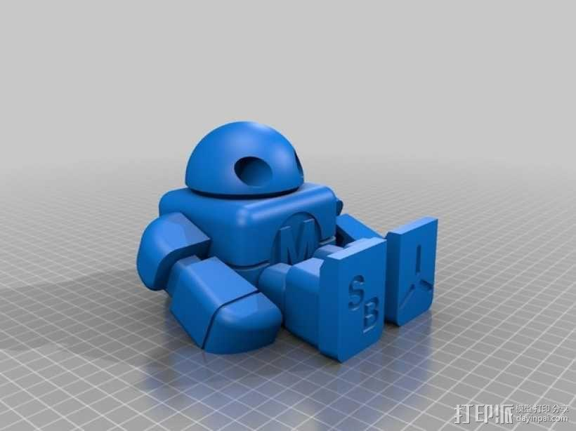制汇节 机器人 3D模型  图13
