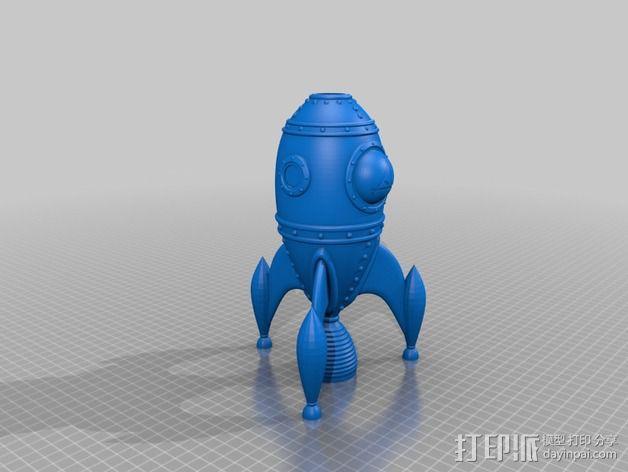 火箭船 3D模型  图6