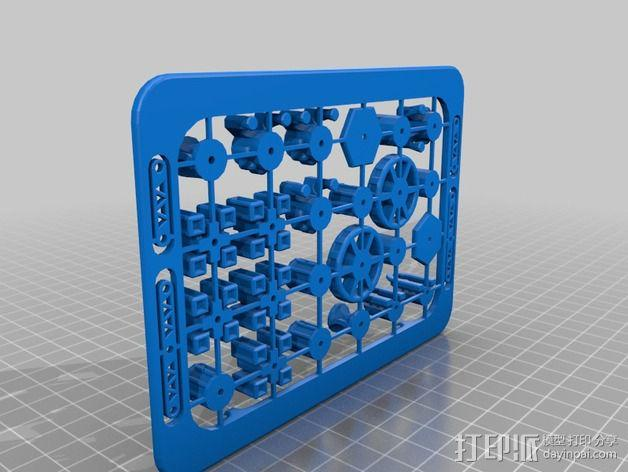 造船 启动器 3D模型  图3