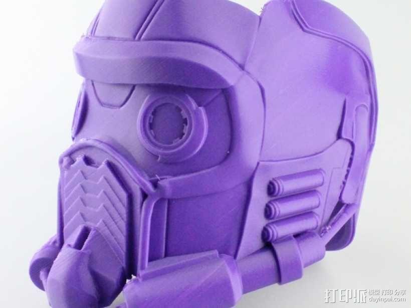 星爵 头盔 3D模型  图1