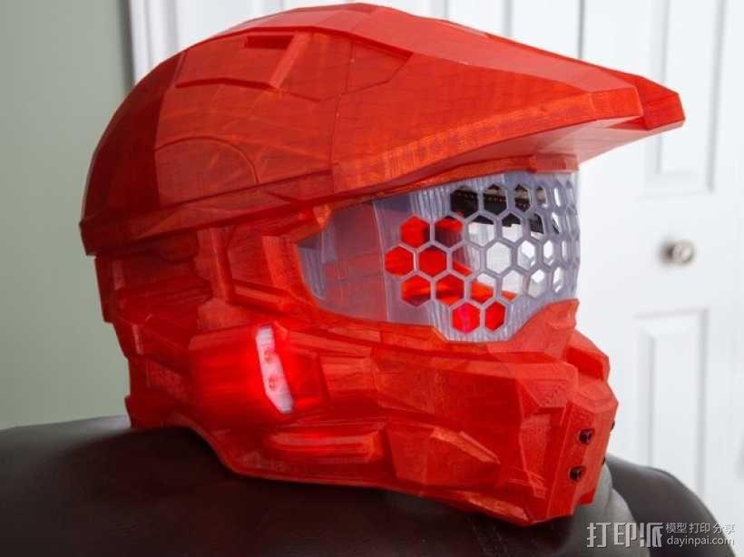 《光晕(halo)》头盔 3D模型  图1