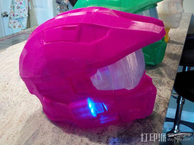 《光晕(halo)》头盔 3D模型  图3