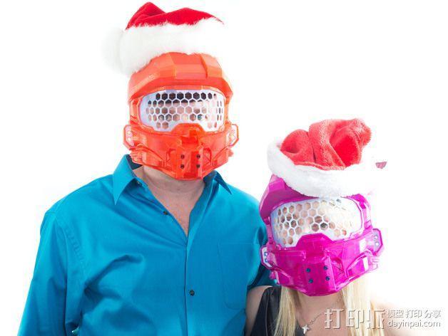 《光晕(halo)》头盔 3D模型  图5