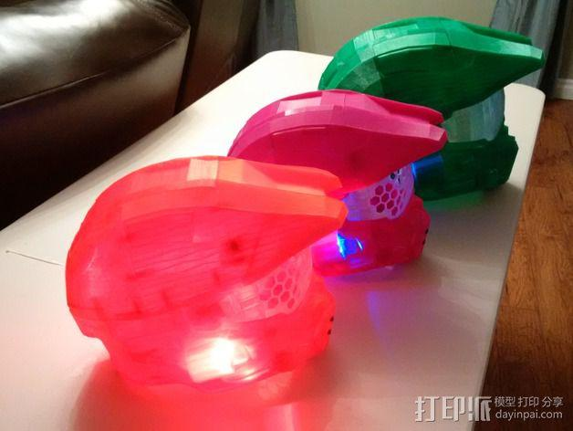 《光晕(halo)》头盔 3D模型  图4