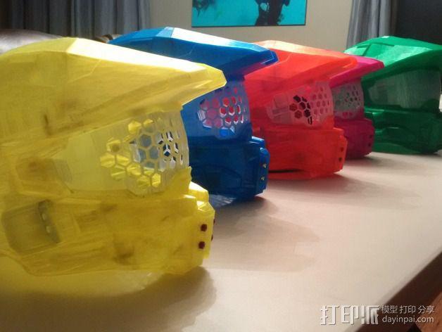 《光晕(halo)》头盔 3D模型  图9