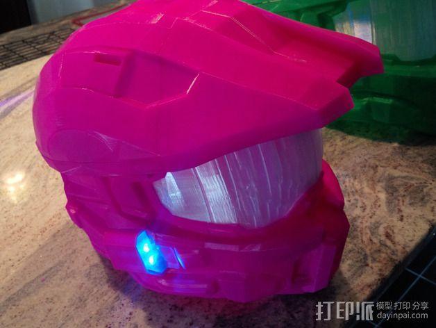 《光晕(halo)》头盔 3D模型  图10