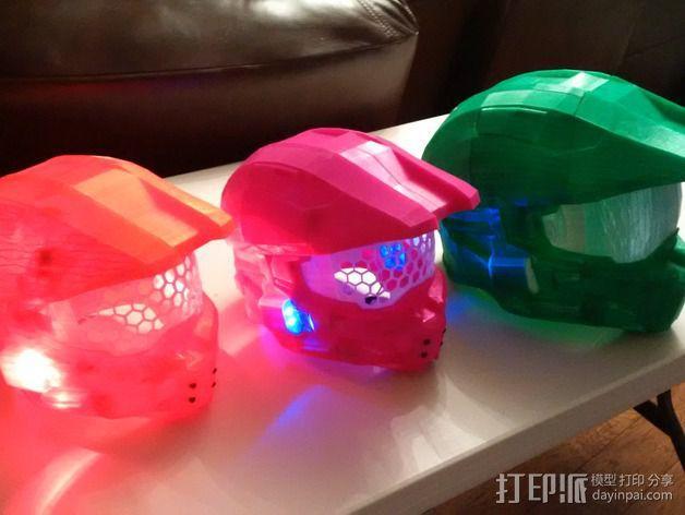 《光晕(halo)》头盔 3D模型  图7