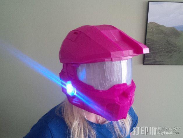 《光晕(halo)》头盔 3D模型  图12