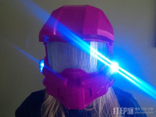 《光晕(halo)》头盔 3D模型  图11