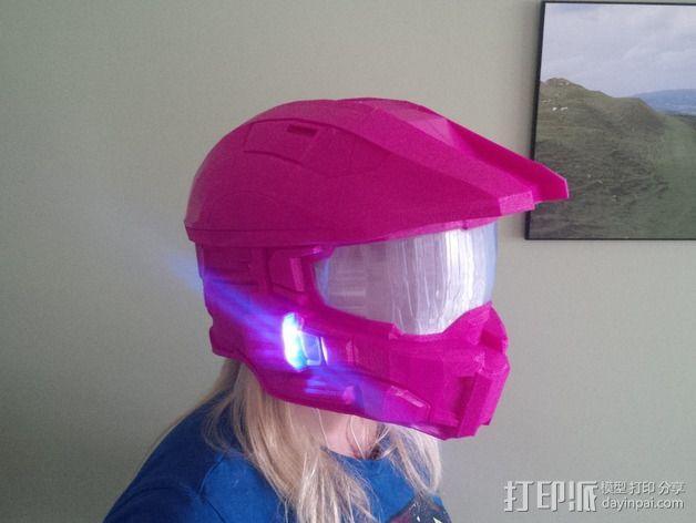 《光晕(halo)》头盔 3D模型  图13