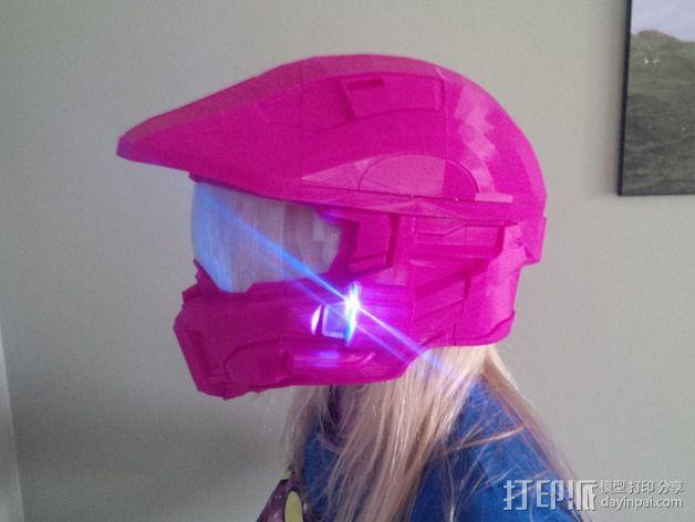 《光晕(halo)》头盔 3D模型  图15