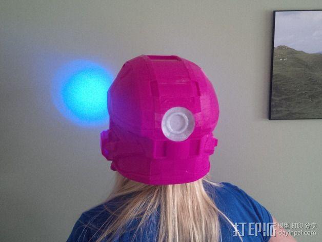 《光晕(halo)》头盔 3D模型  图14