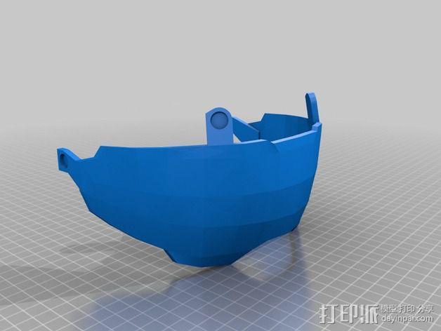 《光晕(halo)》头盔 3D模型  图17