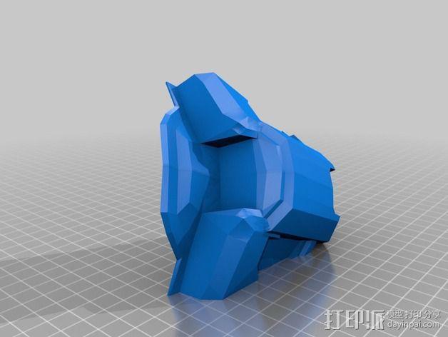 《光晕(halo)》头盔 3D模型  图39