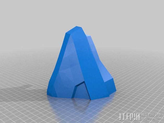《光晕(halo)》头盔 3D模型  图51