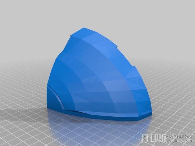 《光晕(halo)》头盔 3D模型  图79