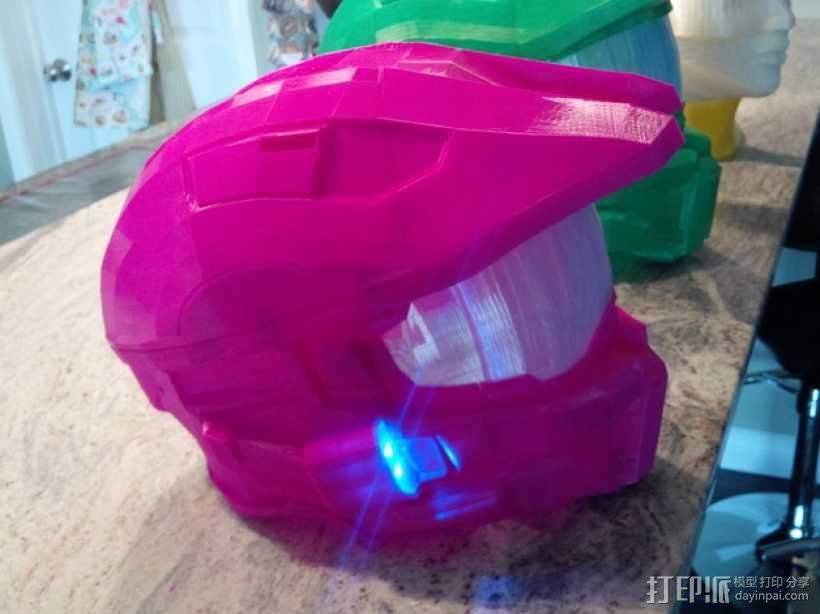 《光晕(halo)》头盔 3D模型  图96