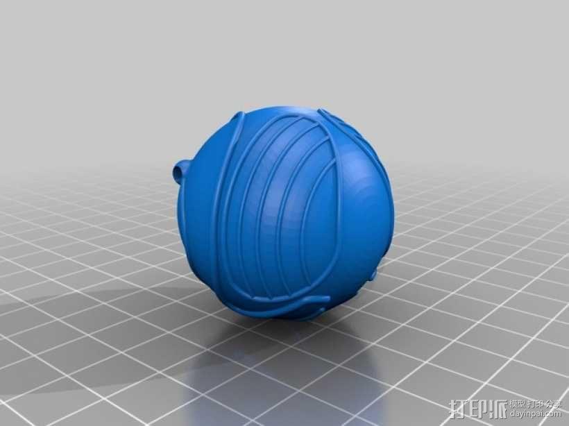 金色飞贼  3D模型  图3