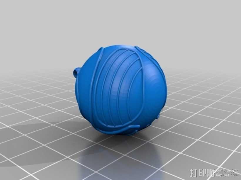 金色飞贼  3D模型  图5