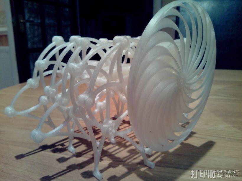 Brabeast 风力仿生兽 3D模型  图1