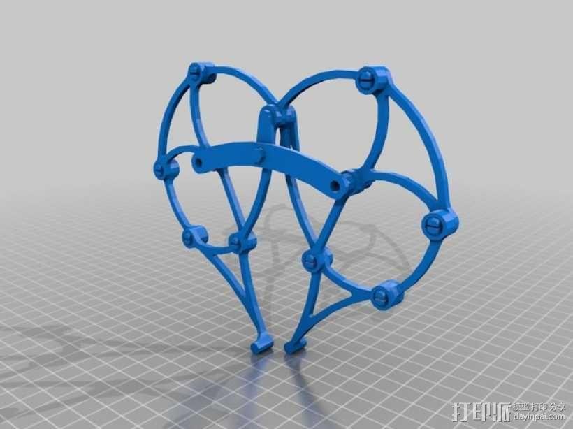 Brabeast 风力仿生兽 3D模型  图9