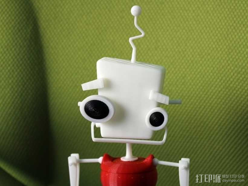机器人 玩偶 3D模型  图1