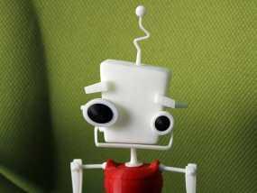 机器人 玩偶 3D模型