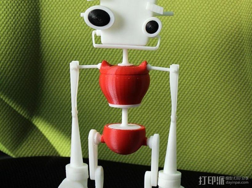 机器人 玩偶 3D模型  图5