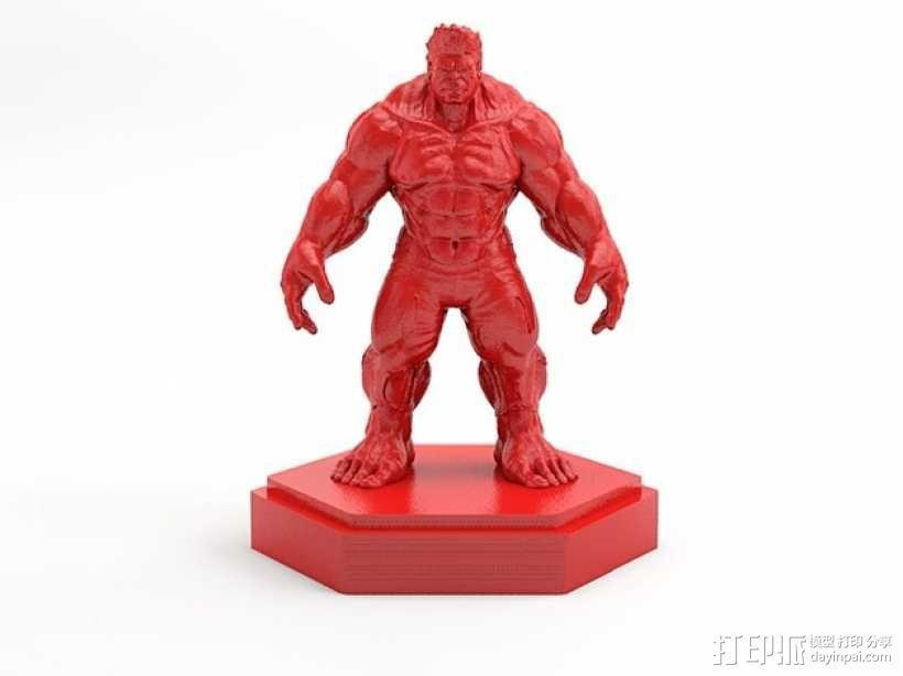 绿巨人浩克 Hulk 3D模型  图1