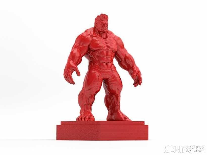 绿巨人浩克 Hulk 3D模型  图3