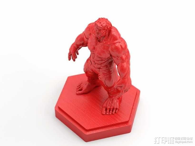 绿巨人浩克 Hulk 3D模型  图5