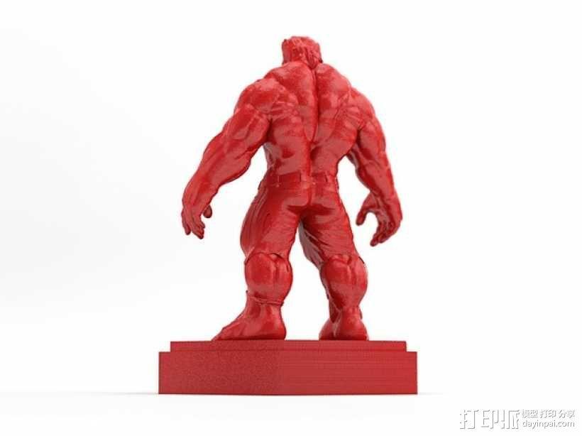 绿巨人浩克 Hulk 3D模型  图4