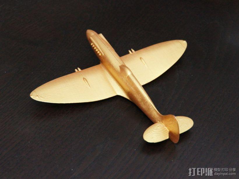 Spitfire Xiv 飞机 3D模型  图5
