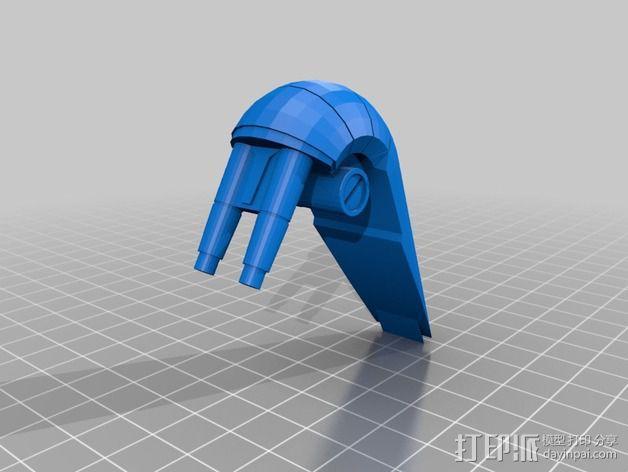 《星球大战》B1战斗机器人 3D模型  图6