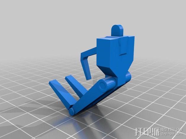《星球大战》B1战斗机器人 3D模型  图20