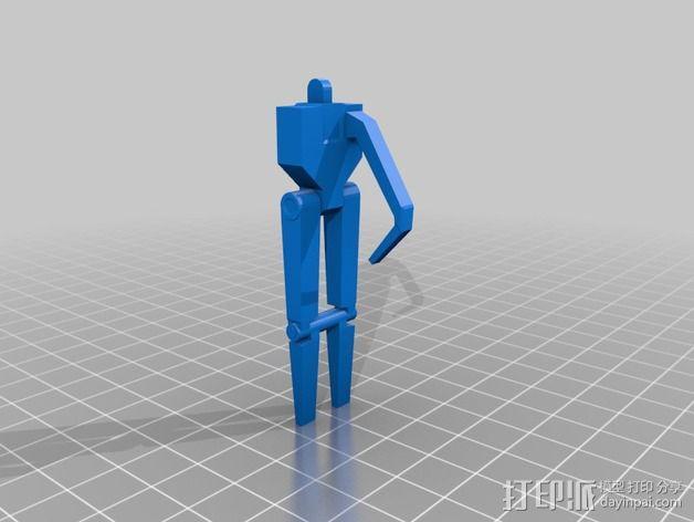 《星球大战》B1战斗机器人 3D模型  图22