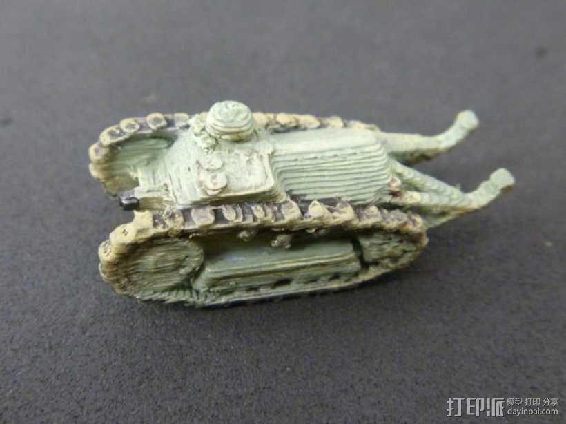 一战坦克 3D模型  图11