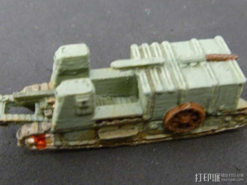 一战坦克 3D模型  图15