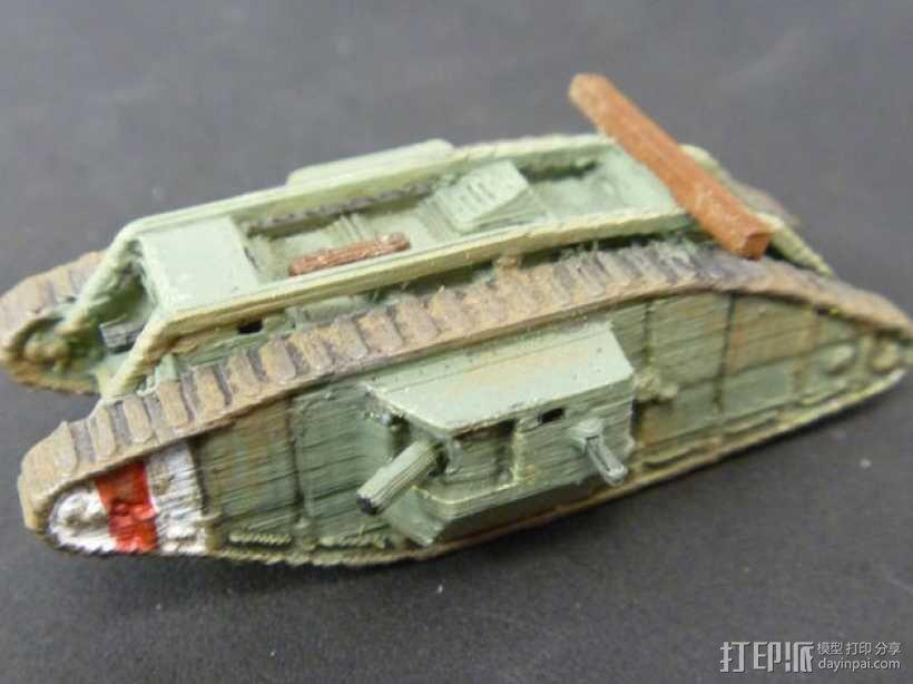 一战坦克 3D模型  图13