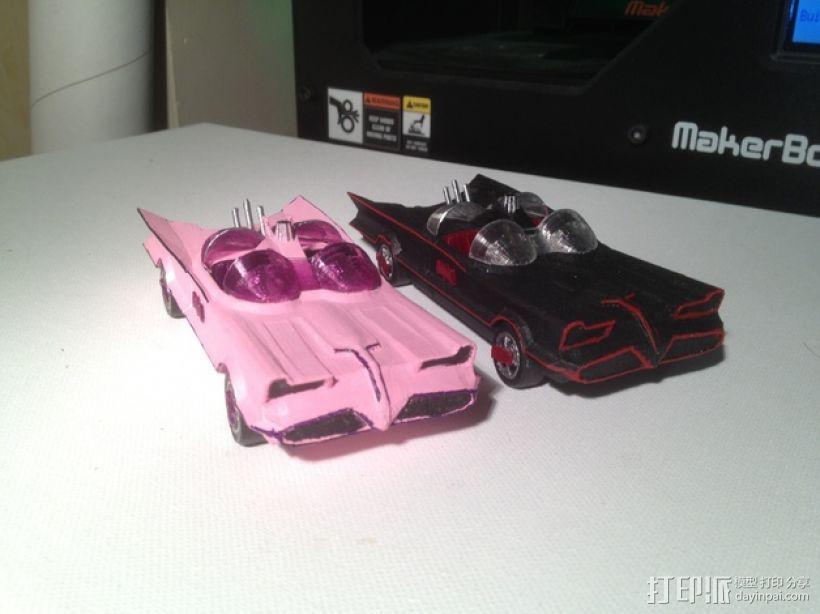 经典蝙蝠车 3D模型  图1
