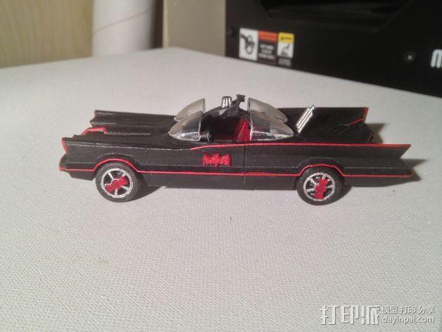 经典蝙蝠车 3D模型  图3