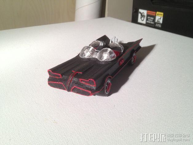 经典蝙蝠车 3D模型  图6