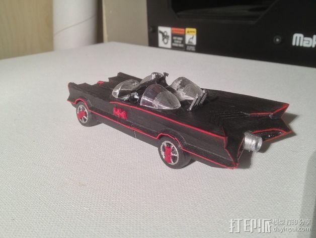 经典蝙蝠车 3D模型  图7