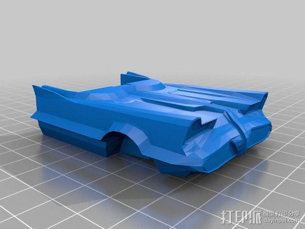 经典蝙蝠车 3D模型  图10
