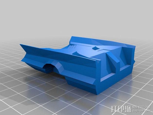 经典蝙蝠车 3D模型  图11