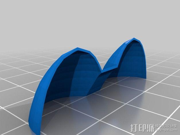 经典蝙蝠车 3D模型  图12